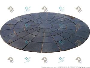 Kadappa Black (Circle)